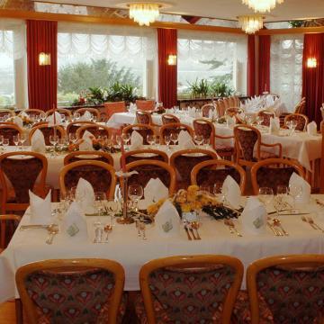 Ansicht großes Restaurant