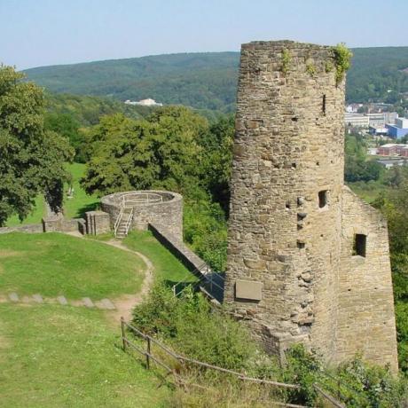 Die Burgruine der Burg Volmarstein
